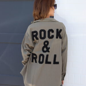 Rock & Roll blouse khaki