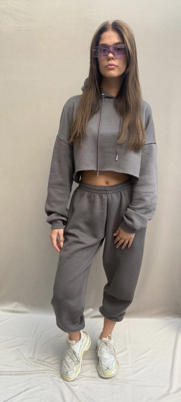 Bellevue fashion JOGGERS 2 PIECE SET mid gray